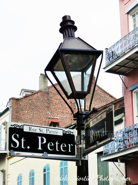 French Quarter Street Light