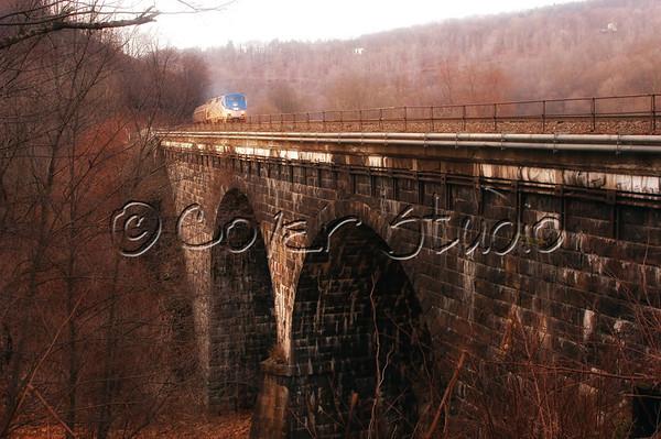 Viaduct Along Path of 1889 Flood