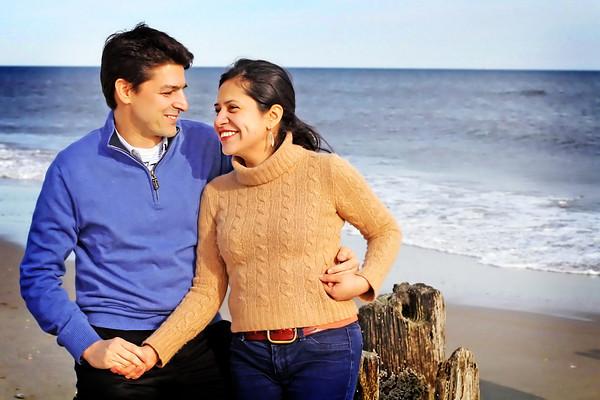 David And Maritza - Beach Portraits