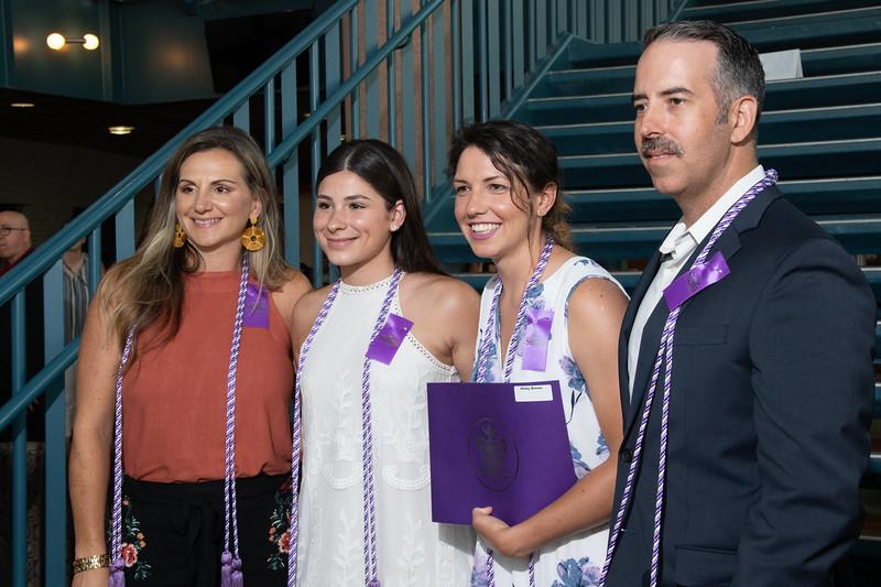 Summer 2019 Sigma Theta Tau International Induction Ceremony.