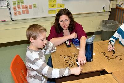 Second Grade Desk Top Math photos by Gary Baker