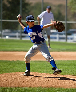 Now Pitching, for the Tijeras Creek Cubs...