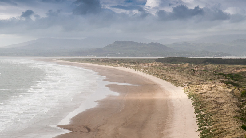 Morfa Harlech Beach