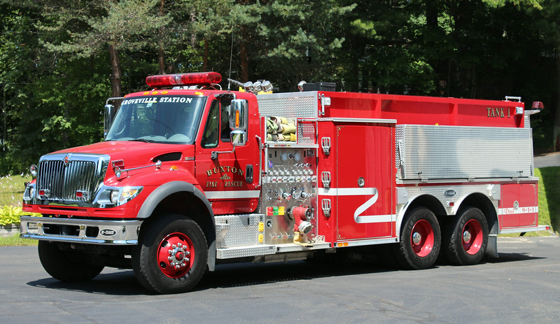 Tanker 1.  2005 International / E-One.  1250 / 2750