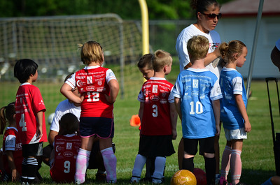 MYSA U6 Red vs Light Blue
