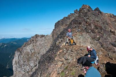 Tomyhoi Peak - August 29, 2009