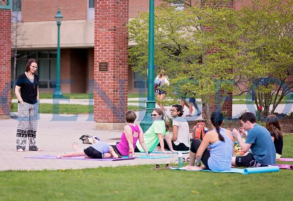 Yoga on the Green (Photos by Annalee Bainnson)