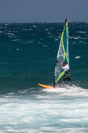 Windsurfing (Hookipa Beach Maui)