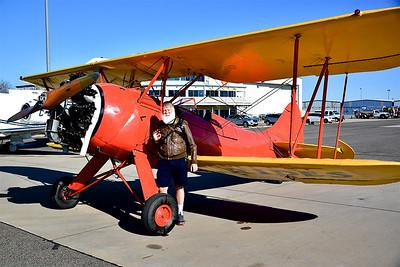 Biplane Flight - Capt'n Dave's Waco