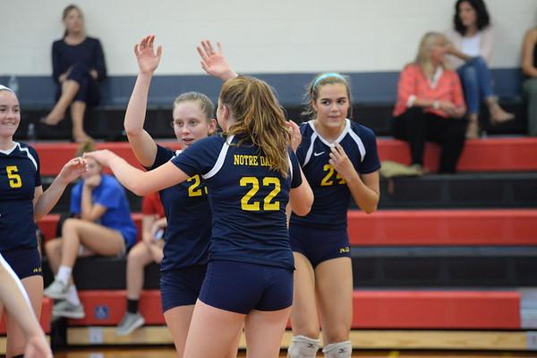 Girls Volleyball: GA vs Notre Dame