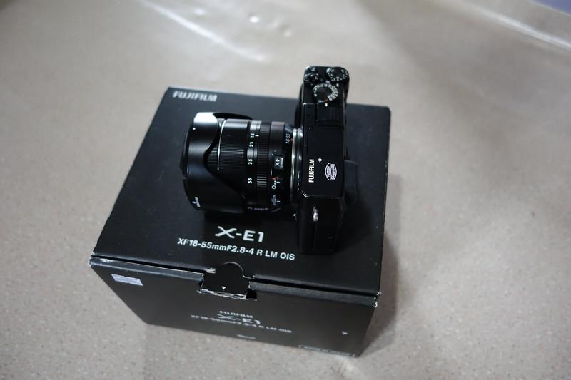 Fujifilm X-E1 and Fujifilm Fujinon 14mm F2.8