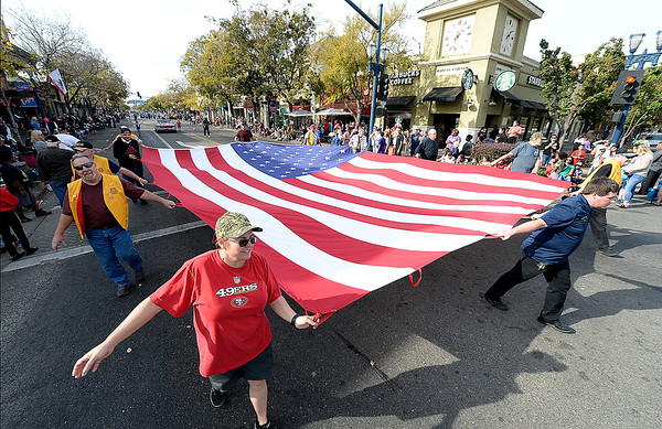 Veterans honored in Vacaville, Fairfield