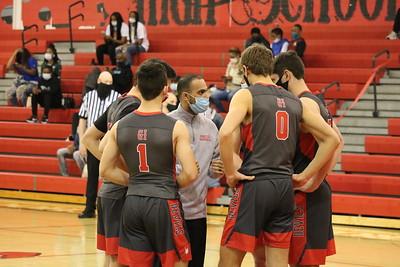 HS Sports - District Semis Boys Basketball @ Huron