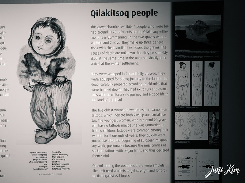 The mummy of a six-month-old boy at Qilakitsoq