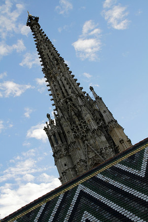 Stephansdom - From Tower