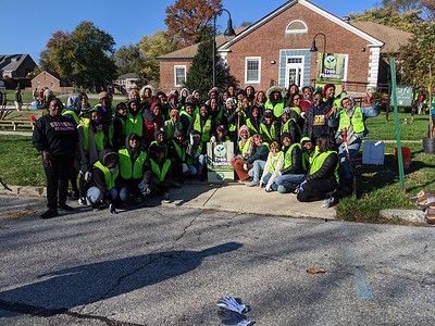 11.2.19 Tree Planting with Catonsville Tree Canopy Project