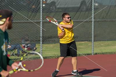 Men's Tennis vs Elmira 9-23-15