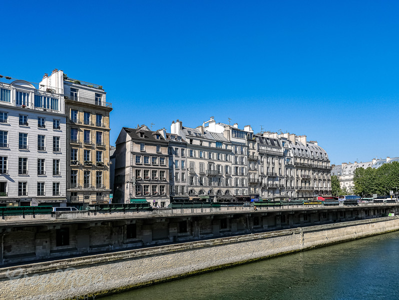 The left bank and the Latin Quarter