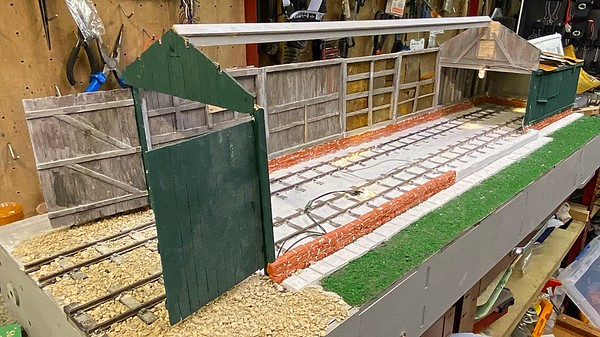 Carriage shed model