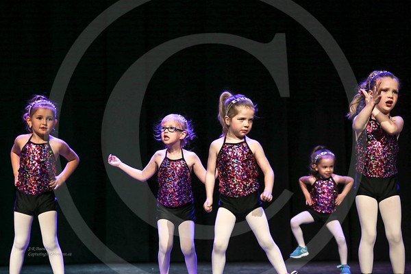 """Hand Clap"" - Performed by Tiny Tappers Jazz, June 2017 Recitals."