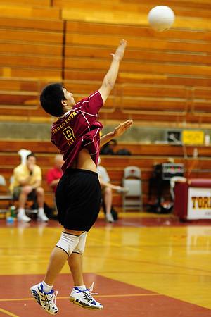 TP Mens V Volleyball vs Escondido, April 24, 09