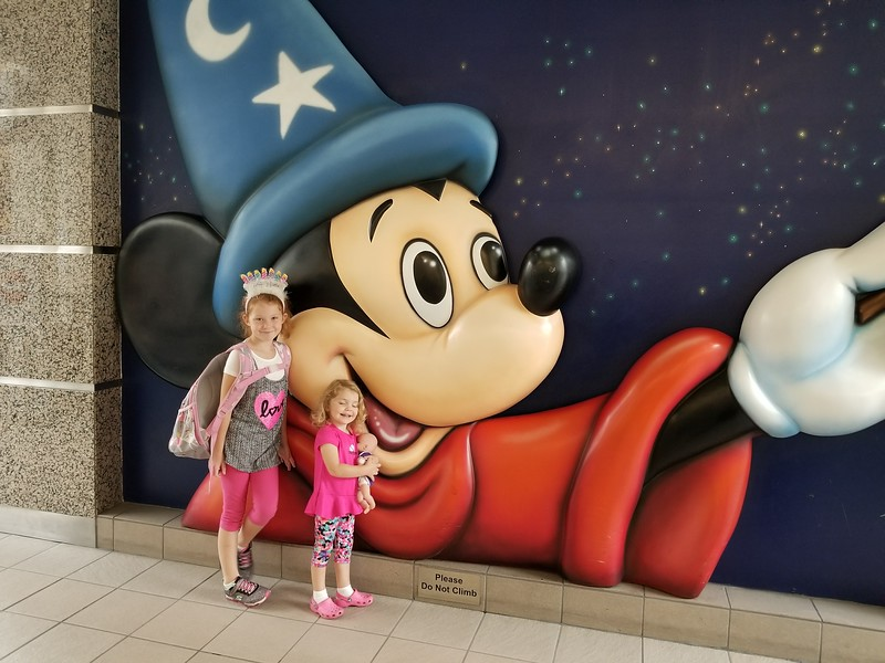 Orlando Airport - they were very excited with this storefront