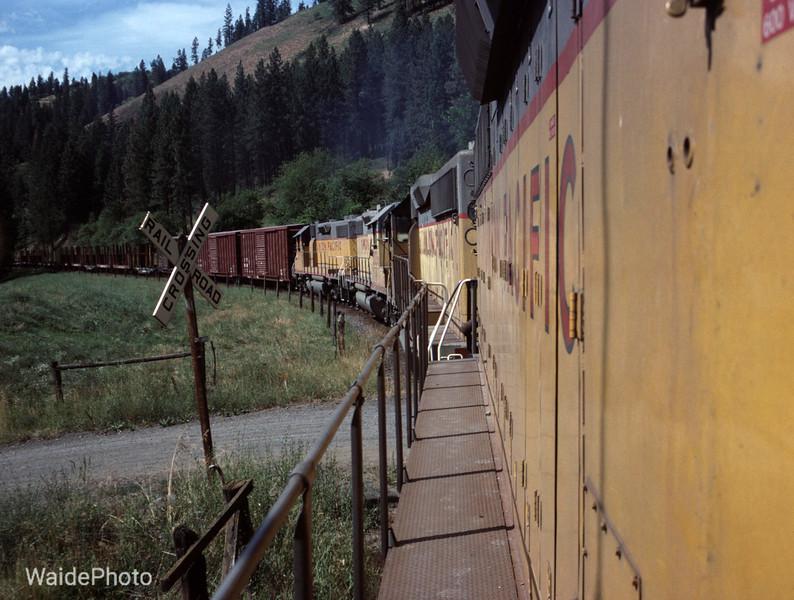 4th Subdivision, Camas Prairie RR, Idaho 1991