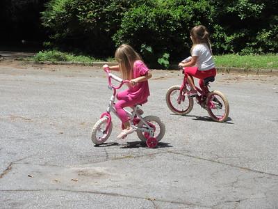 Grandgirls! Goodwill! Bikes! 7.1.21