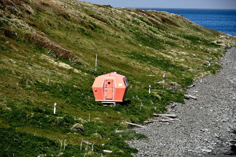 Hornvík - Höfn. Neyðarskýlið 2015.