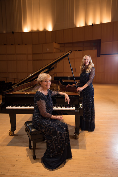 Piano Duet Concert Shoot