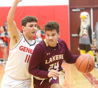 Pymatuning Valley at Geneva boys basketball 2-15-19