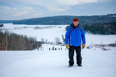 2018-01-20 Maranacook Slalom at Kent's Hill