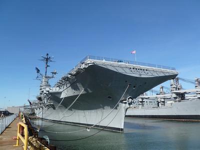USS Hornet - Alameda, CA - 28 Jan. '12