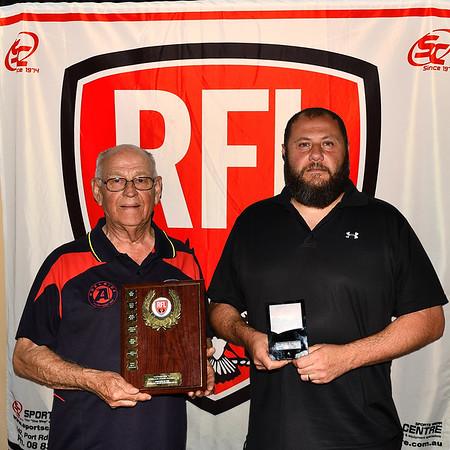 2020 RFL Trophy Presentations