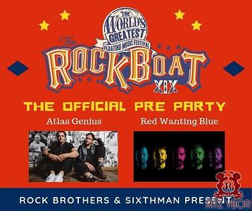 Atlas Genius Rock The Boat Pre-Party