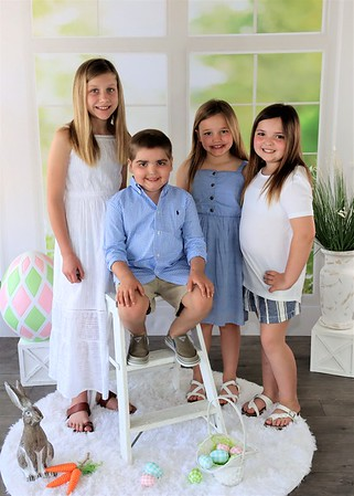 Adalynn, Jaylinn, Autumm,  & Maddex | Easter 2021