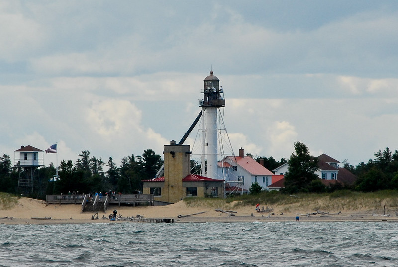Whitefish Point Light, Lake Superior