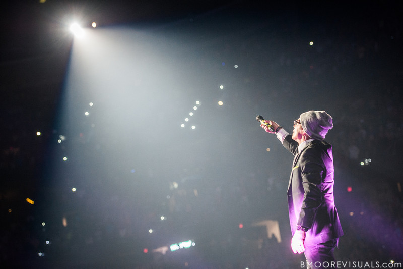 tobyMac and the Diverse City Band perform on January 12, 2013 during Winter Jam at Tampa Bay Times Forum in Tampa, Florida