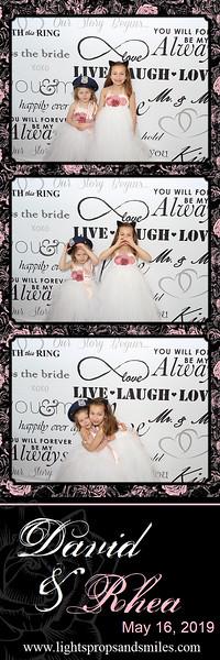 David & Rhea's Wedding