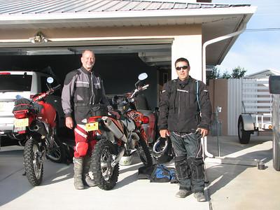 Dual Sport Tour, Sept 2009