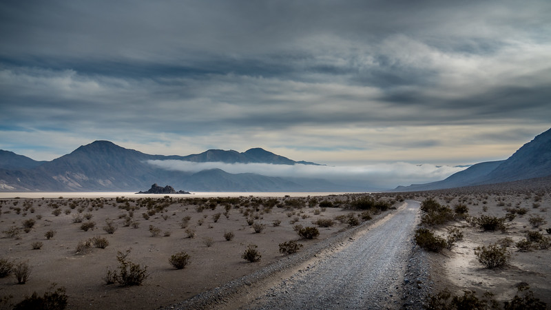 The road to the Racetrack Playa