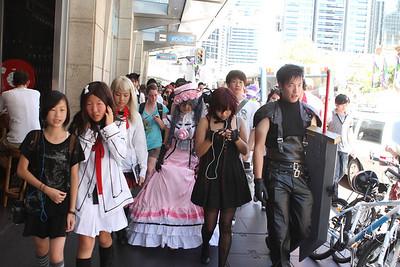 Cosplay Flash Mob