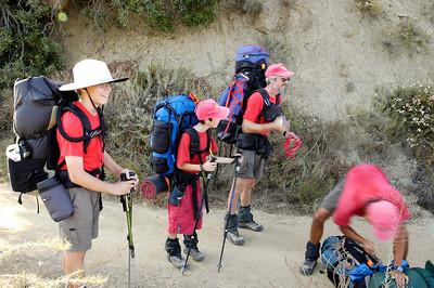 8/6/2005 - Santiago Old Camp Training Hike