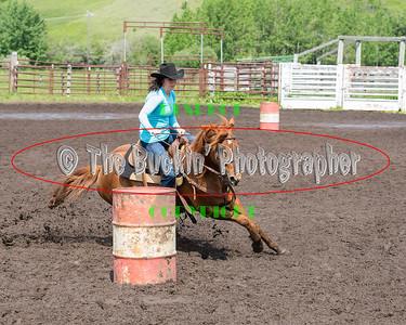 Elkwater 2014 Barrel Racing Slack