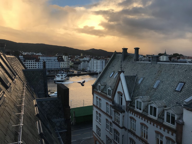 view from the First Marin - Bergen