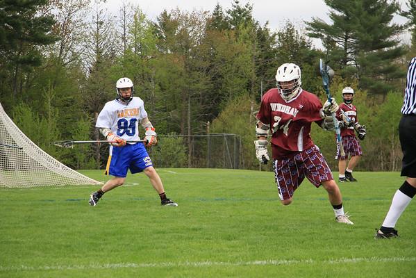 Pat Pearson ~  Lacrosse Windham HS 2010-11