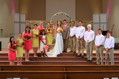 Kayla & Colyn Group Photos