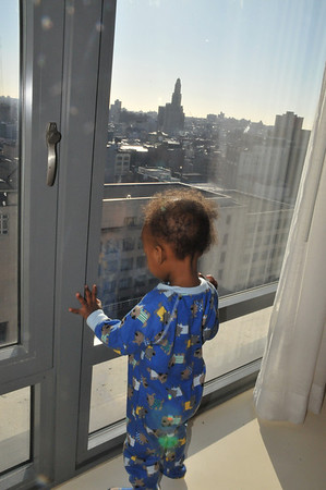 New York and Kizzie's baby shower