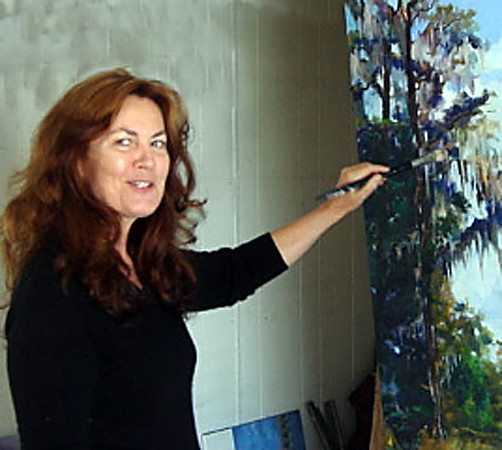 Monet's Great-Grandniece - Oil Painter Brenda Philips