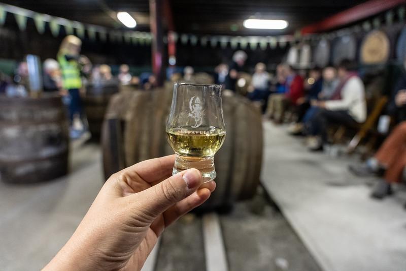 Lagavulin warehouse tasting tour on Islay